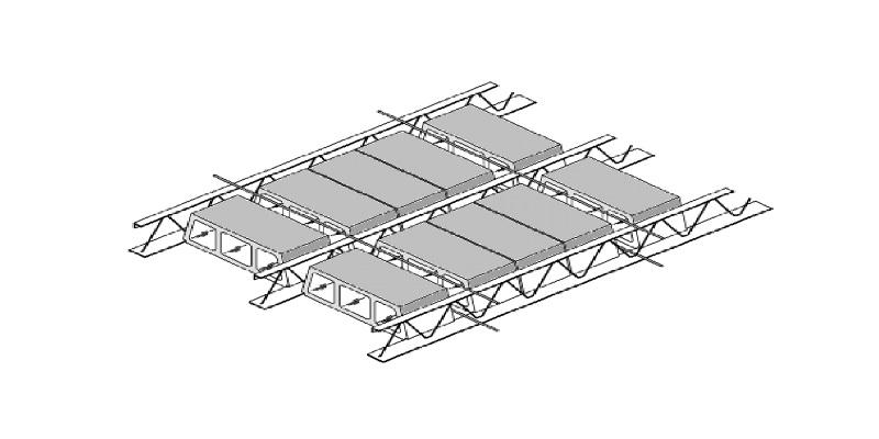نحوه ی اجرای سقف تیرچه کرومیت ( فلزی )