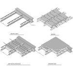 انواع سقف تیرچه کرومیت ( فلزی )